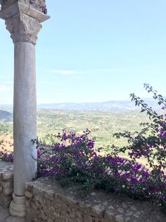 Day Mystras, the view over Laconia Archaeological Site, Greece, Outdoor Decor, Greece Country