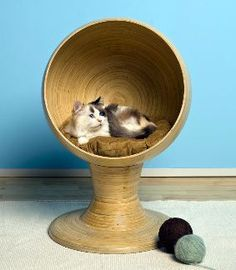 wiker http://www.our-happy-cat.com/cat-beds.html