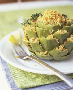 carciofi tofu e formaggio