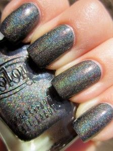 This is a pretty good dupe for OPI My Private Jet Holo, from the looks of this pic.