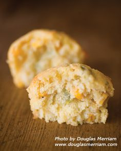 New Mexico Hatch Chiles & Cheese Muffins