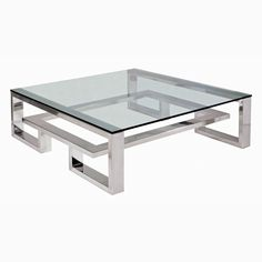 Brooklyn - Coffee Table, Stainless Steel