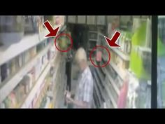GHOST VIDEOS Teabags floating at shop | Scary ghost videos caught on tape on Paranormal Camera - YouTube