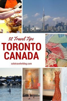 Planning a trip to Toronto Canada? We share 32 free and low-cost tips for things to do in our home city! http://solotravelerblog.com/50-toronto-solo/