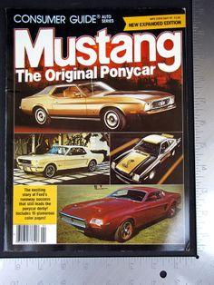 Consumer Guide Auto Series Magazine 1982 April Mustang The Original Ponycars