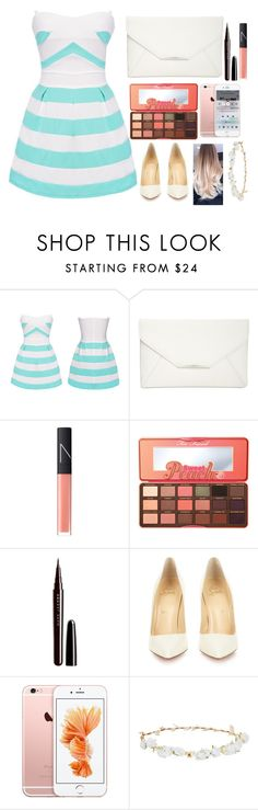 """Whop Whop."" by xo-zafia-xo ❤ liked on Polyvore featuring Style & Co., NARS Cosmetics, Too Faced Cosmetics, Marc Jacobs, Christian Louboutin, Robert Rose and MikeToMySulley"