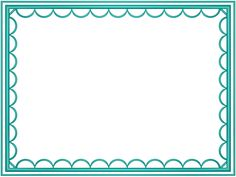 free frames and borders png aqua artistic loop rectangular powerpoint border 3d borders