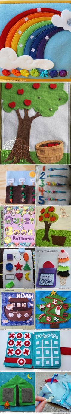 Quiet Book Patterns & Ideas