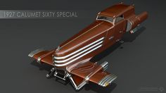 For the fall motoring season, Micromegas AG commissioned a short run of replicas of the Calumet Sixty Special from the AIGO design house on Titan. These were unveiled by Gessler himself at a gala e...
