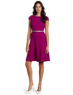Anne Klein Women's Cap Sleeve Honey Comb Swing Dress, Persian Rose, 10 Anne Klein, http://www.amazon.com/dp/B008COE2KU/ref=cm_sw_r_pi_dp_8tJgqb12M2TR3