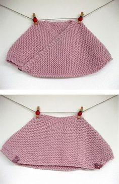 PATRÓN PARA TEJER UNA TOQUILLA DE NESKA. Basic knitting shawl ... b9b64e925f7