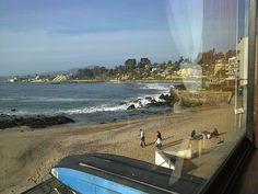 Con Con playa, sol, disfrute................