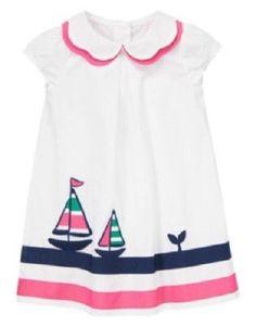 NWT Gymboree Flower Shower Anchor Tee Shirt Top 5 6 10 12 Girls