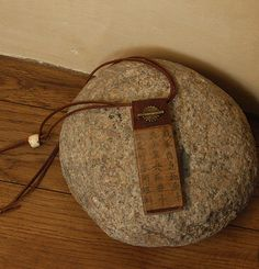 recycled wooden necklace -:- AMALTHEE CREATIONS -:-
