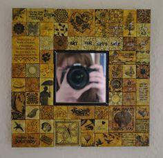 Stampbord mirror.