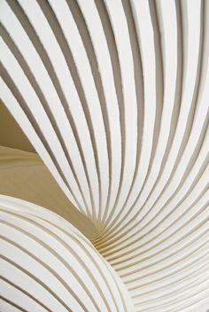 ₪ Paper Art Potpourri ₪ Shell by Richard Sweeney Architecture Origami, Amazing Architecture, Architecture Details, Op Art, Textures Patterns, Print Patterns, Geometry Pattern, White Texture, Texture Art
