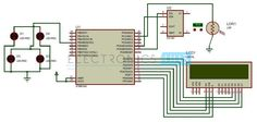 Auto Intensity Control of Street Lights Circuit Diagram