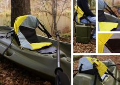 Kicker Outdoors, camping gear with a rain fly, hammock and kayak seat | Designbuzz : Design ideas and concepts