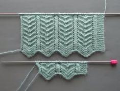 Maravillosos zigzags que hacen punto chalecos para mujer y manta de bebé Muestra . Knitting Terms, Knitting Blogs, Knitting Kits, Knitting Stitches, Free Knitting, Easy Sweater Knitting Patterns, Intarsia Knitting, Crochet Blanket Patterns, Cross Stitch Pattern Maker