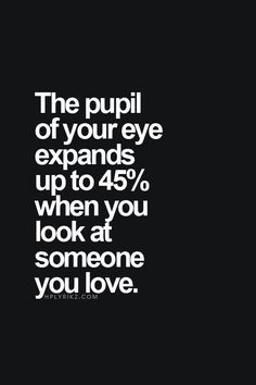 Pupila y amor