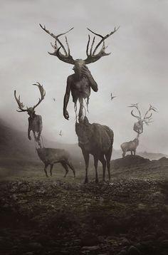 Blut Aus Nord - 2014, by Dehn Sora.
