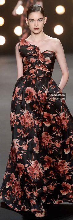 The Best Gowns of Fall 2014 Fashion Week International: Naeem Khan FW 2014 #NYFW