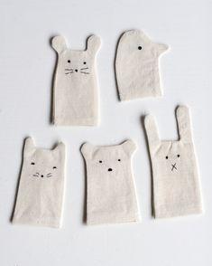 Marionetas de dedo sencillas