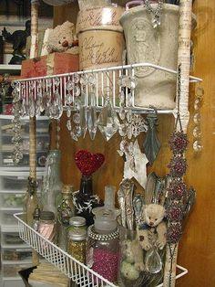 Closet~ ♥ Shabby Chic Inspirations #shabbychic