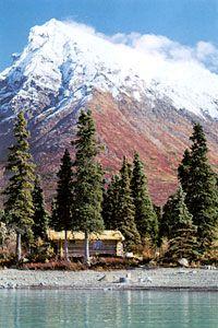 Dick Proenneke's cabin in Alaska