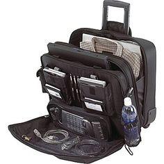 Targus® 17in. Rolling Travel Laptop Case, Black
