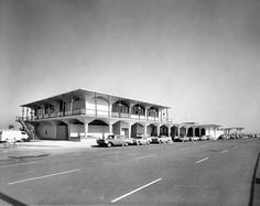 Orange County Airport terminal, circa 1967 by Orange County Archives, via Flickr