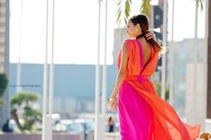 formal dresses long formal dresses viola by pullover fuxia orange shooting