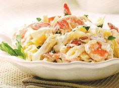 Creamy lemon shrimp pasta Recipe | Just A Pinch Recipes