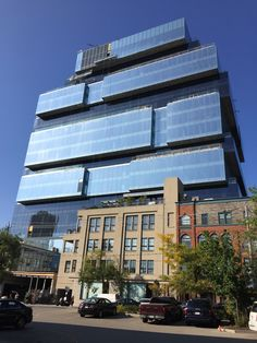 New Globe & Mail Head Offices - Toronto, Ontario . Save The Planet, Offices, Ontario, Skyscraper, Toronto, Planets, Concrete, Globe, Multi Story Building