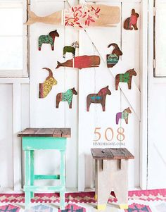 Warm & timeless Scandinavian folk art that is anchored by colors found in nature in a background of varying whites. Simple yet elegant!