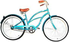 SALE Airwalk 26-Inch Clipper Teal Cruiser Bicycle, Teal