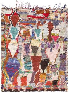Abstract Moroccan Rug