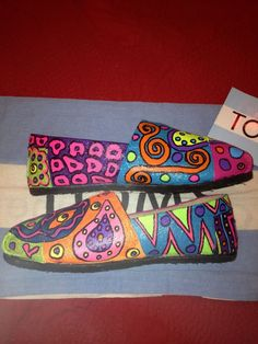 Peace and Love Toms by:  Karen Laughlin