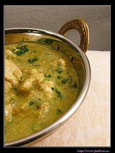 Hühnercurry mit Pistazien – Pista Murgh | Foodina