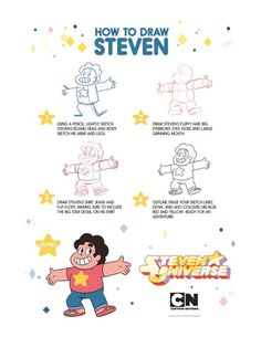 Cartoon Drawing Tips Steven Crewniverse Behind-The-Scenes Universe: From Lead Character Designer Danny Hynes: Hey. Greg Universe, Universe Art, Cartoon Drawing Tutorial, Cartoon Drawings, Gorillaz, We Are Bears, Steven Universe Drawing, Mouth Drawing, Drawing Tips