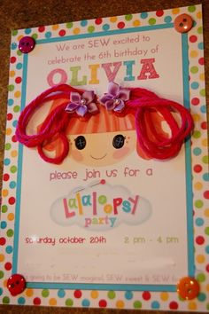 The Princess Diaries: Olivia's Lalaloopsy Party