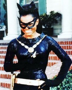 Eartha Kitt took over the role of CATWOMAN in the and final season of Batman. She passed away Christmas 2008 at the age of Catwoman Cosplay, Cosplay Gatúbela, Batman Und Catwoman, Cosplay Ideas, Original Catwoman, Batman Y Robin, Batman 1966, Julie Newmar, Christopher Nolan