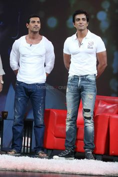 John Abraham and Sonu Sood (Special Episode On Issi Ka Naam Zindagi!)