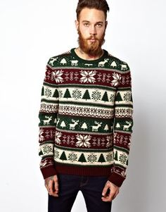 Ugly Holiday Sweater: Warm winter sweater from @asos.com. #paypalit