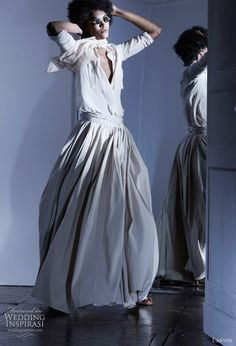 Lanvin Spring/Summer 2011. If only I was cool enough to rock this as a wedding dress someday