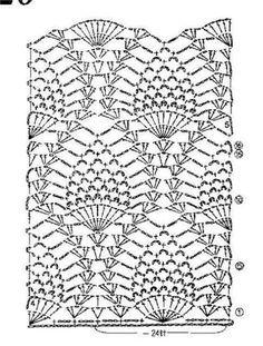 Fabulous Crochet a Little Black Crochet Dress Ideas. Georgeous Crochet a Little Black Crochet Dress Ideas. Filet Crochet, Crochet Diagram, Crochet Chart, Crochet Motif, Crochet Doilies, Crochet Lace, Crochet Ideas, Pineapple Crochet, Pineapple Pattern