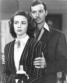 ZACHARY SCOTT & DOROTHY MALONE Original Movie Still (1949)