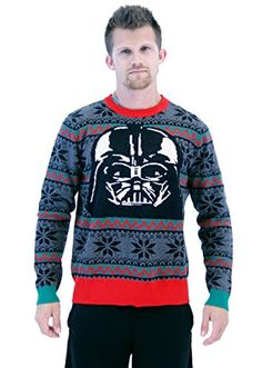 Darth Vader Christmas Sweater – Unisex   Ugly-Sweaters.com