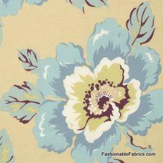 Fabric... Gypsy Caravan Wild Poppy in Milk by Amy Butler