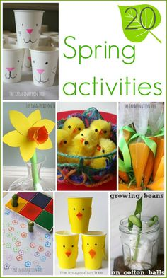 20 Spring activities and crafts for kids